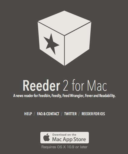 Reeder2 for mac officialversion release