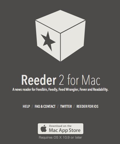 Reeder2 for mac officialversion release