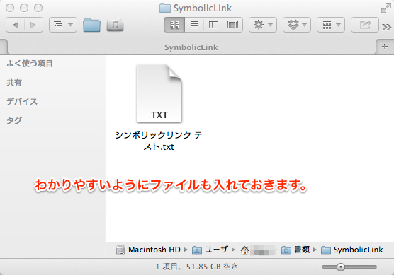 Symbolic link 02