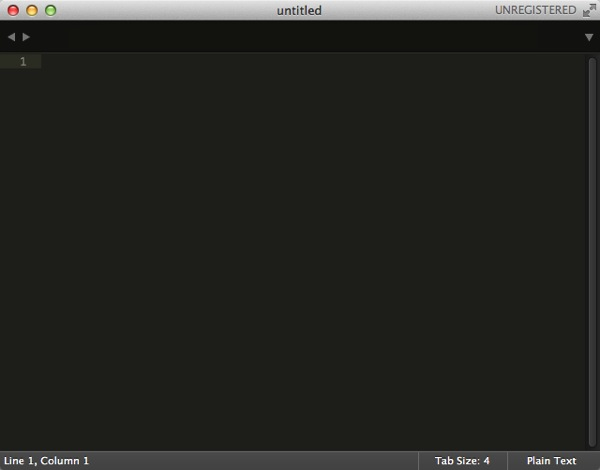 Sublime Text 01