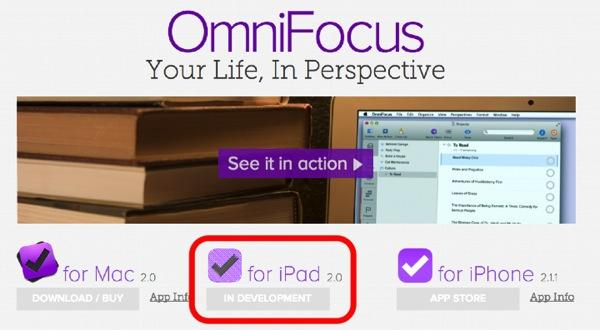 Omnifocus2 ipad in development 01