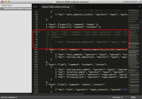 Sublime Text 3 Key bindings Default OSX sublime keymap 03