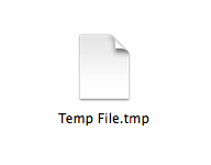 Temp File tmp