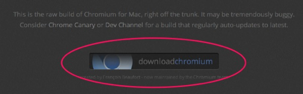 Chromium download update 01