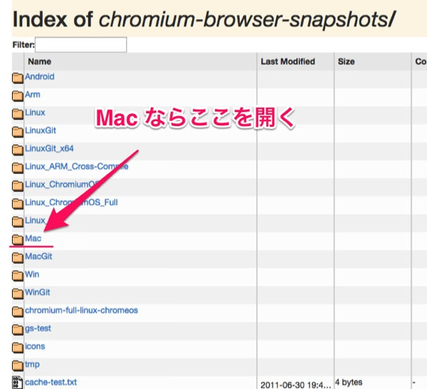 Chromium download update 02