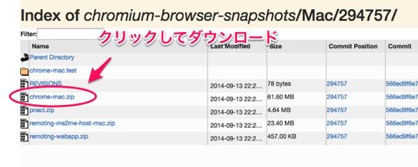 Chromium download update 04
