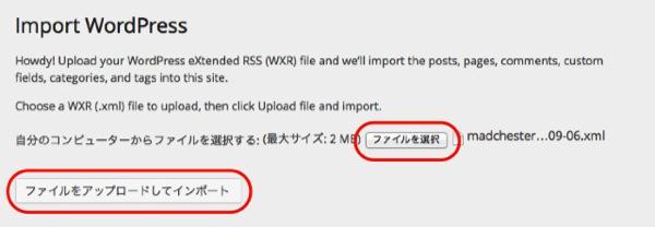 Wordpress import 04