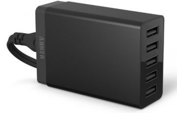 Anker 40w 5port charger 71an7105