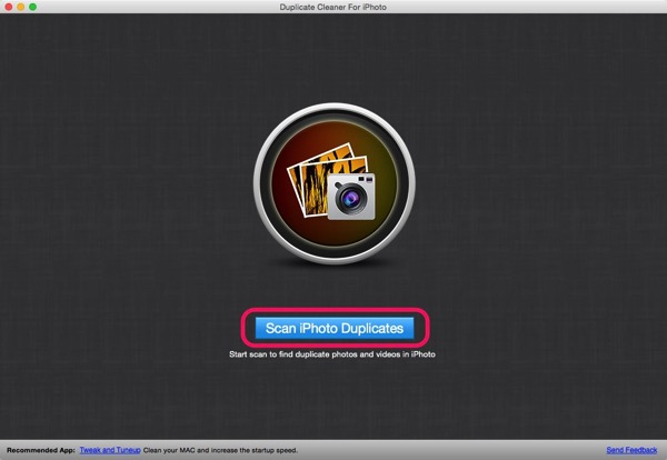Duplicate cleaner for iphoto 01