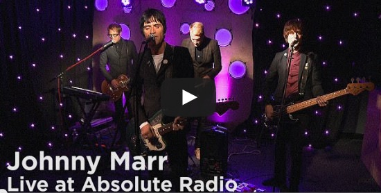 Johnny marr absolute radio studio session