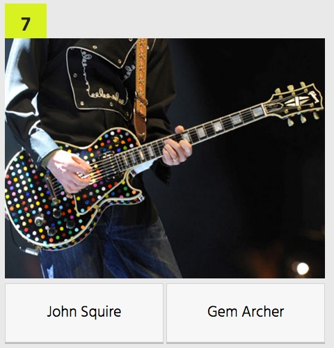 Apply guitarist only guitar and hand john squire