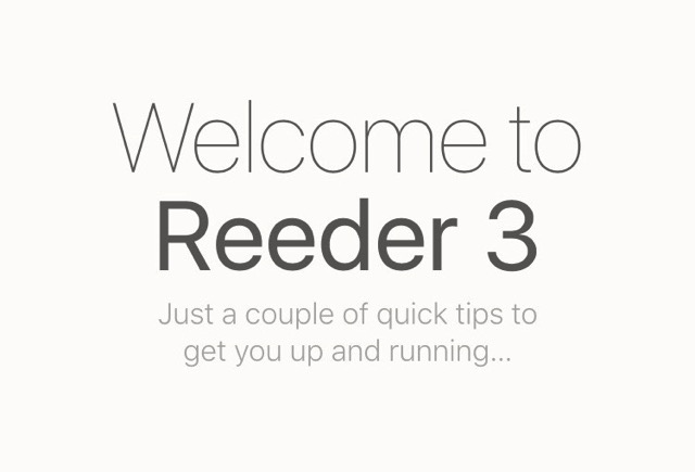 Reeder 3 for iOS