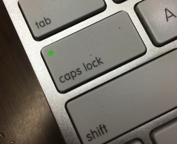 Mac capslock key