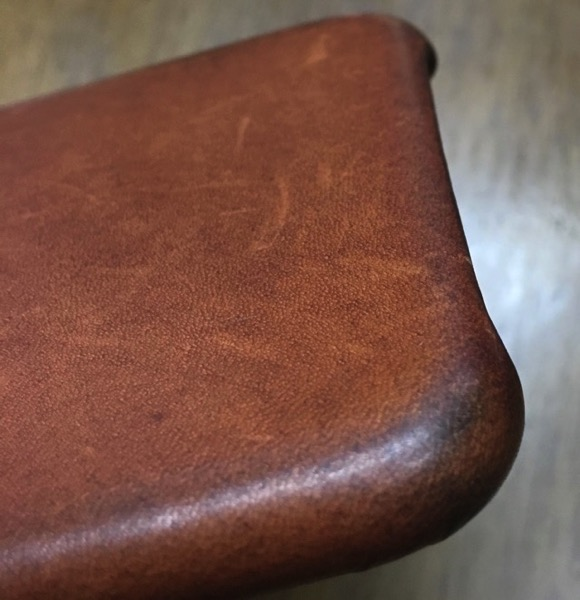 Saddle Brown after four months lower left