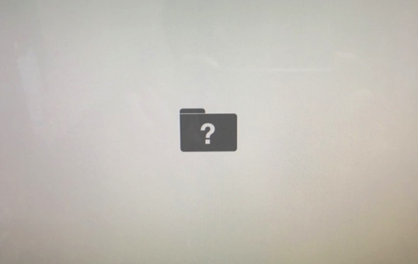 Mac question mark does not start