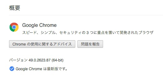 Chrome Ver.49